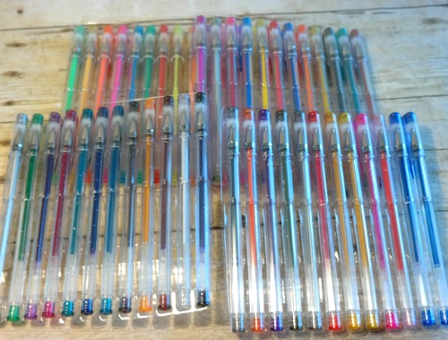 Caliart Ultimate Premium Glitter Gel Pen Set