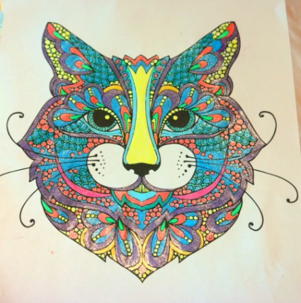 Adult Coloring - CATS