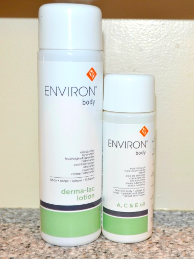 Environ Body Range Skin Care Products
