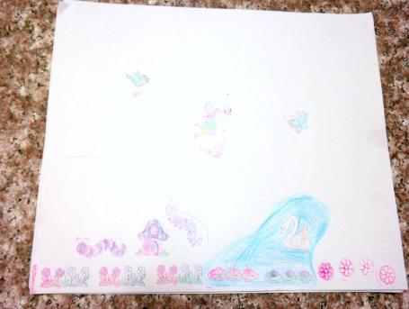 Melissa & Doug Fairy Garden Stamp Set