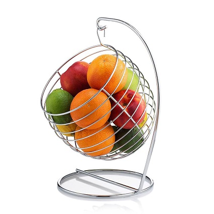 Francois et Mimi Swinging Fruit Tree Bowl Basket