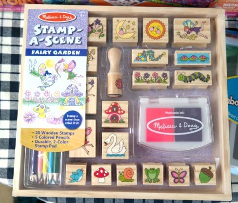 Kid's Crafts: Fairy Garden Stamp Set