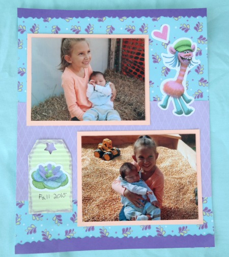 Dreamworks Trolls Theme'd Scrapbooking Pages