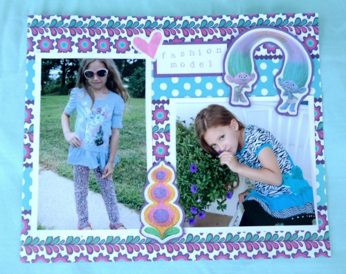 Getting Your Kids Involved in Scrapbooking + 2 Scrapbook Page Ideas