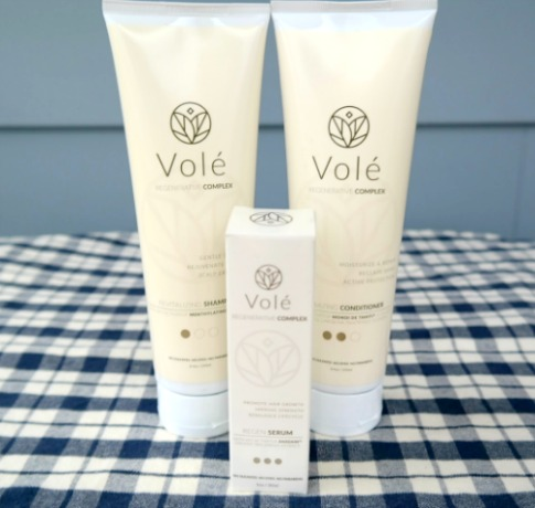 Healthy & Beautiful Hair with Vole Regenerative Complex