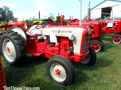 Old Farm Equipment Show at William's Grove