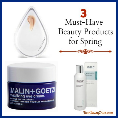 3 Must-Have Beauty Products for Spring