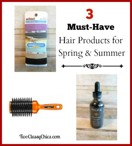 3 Must-Have Hair Products for Spring and Summer