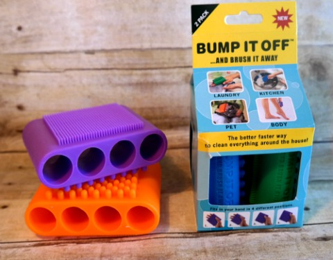 BUMP IT OFF Silicone Cleaning Scrubbers