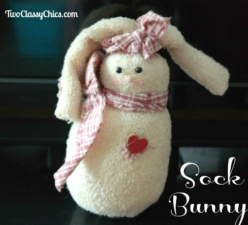 Craft Project: Easter Bunny from Old Socks