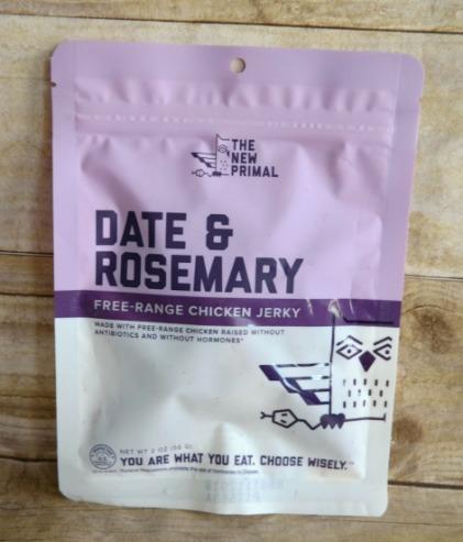 Date & Rosemary Free-Range Chicken Jerky