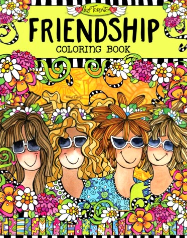 Adult Coloring Books that Empower Women to Embrace Wackiness