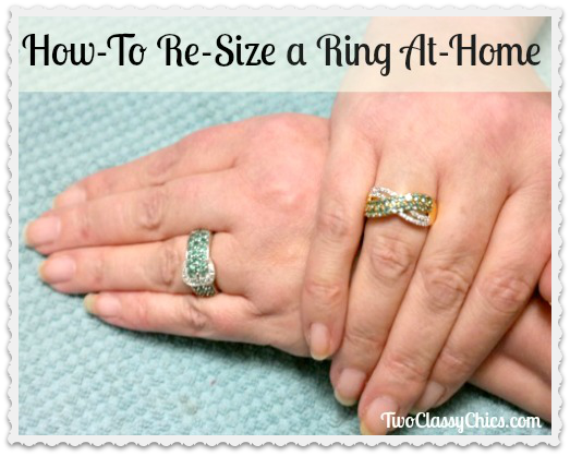 How to Re-Size Your Rings at Home