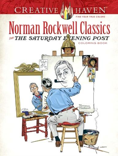 Norman Rockwell Classics Adult Coloring Book