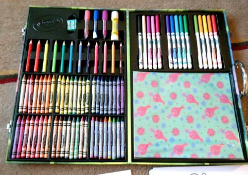 Crayola Trolls Glitter Scrapbook Kit