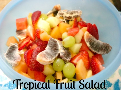 Shelly's Tropical Fruit Salad