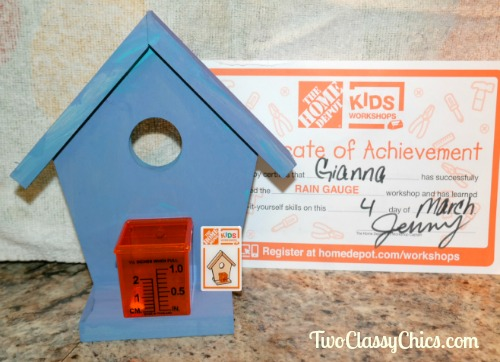 Free Make-and-Take Wood Craft Classes at The Home Depot