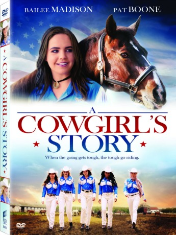 A Cowgirl's Story Movie DVD