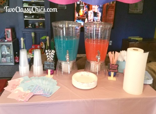 Baby Shower Beverages and Punch