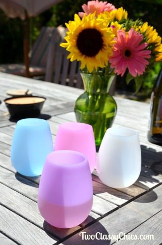 Pour, Sip and Squeeze with Bendiware Beverage Glasses
