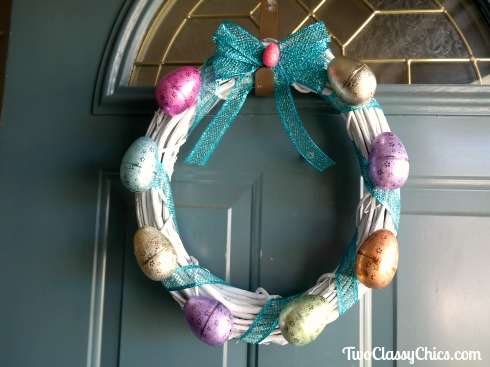 Craft Project: How to Make a Simple Easter Door Wreath