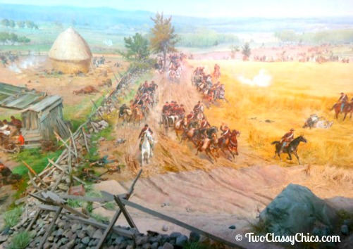 Visiting the Battle of Gettysburg Cyclorama