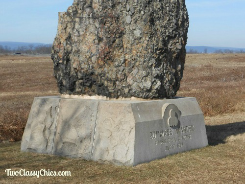 Gettysburg National Military Park - Battlefield Monuments