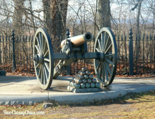 Gettysburg Battlefield in Pennsylvania - Civil War Cannon