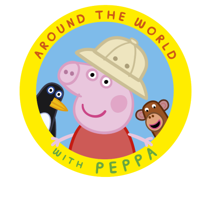 Peppa Pig - Around the World Children's DVD