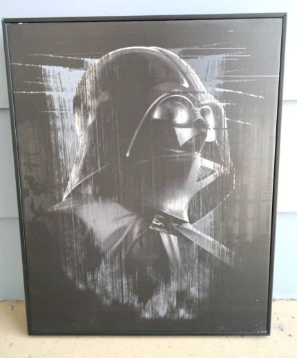 Star Wars Darth Vadar Canvas Wall Art