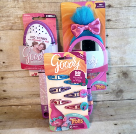 Girl's Hair Accessories by Goody in Trolls Design
