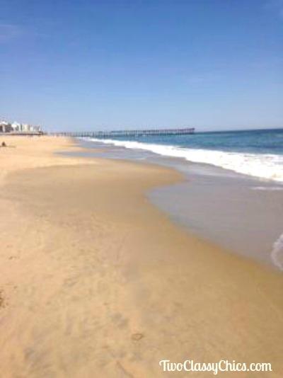 White Sandy Beaches in Virginia Beach