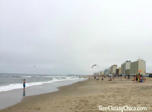 White Sandy Beaches in Virginia Beach