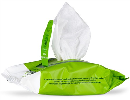 emerginC Scientific Organics Facial Cleansing Wipes