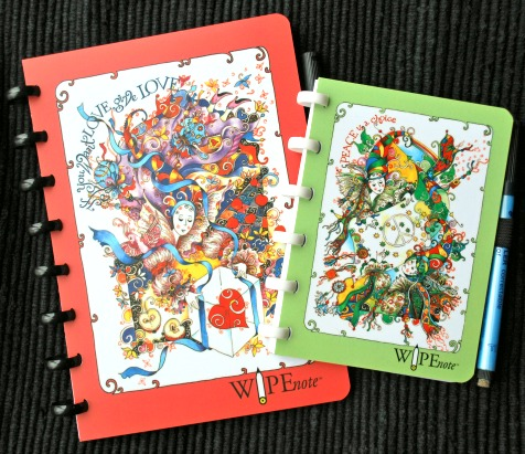 Wipenote Whiteboard Notebooks Are Fun to Use, and Save Paper, Too!