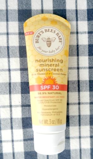 Burt's Bees Baby Bee Nourishing Mineral Sunscreen