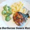 Homemade Cola Flavored Barbecue Sauce Recipe