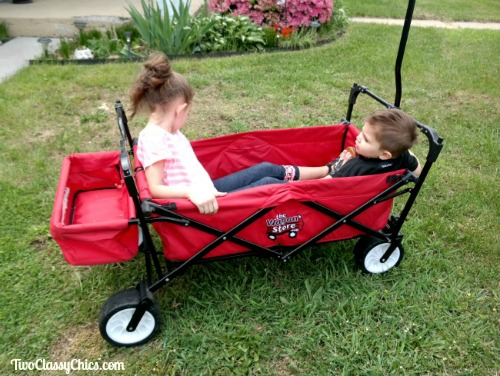 Space-Saving Outdoor Wagons from The Wagon Store
