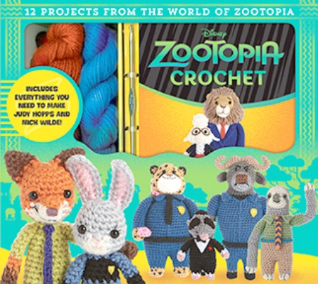 Disney Zootopia Crochet Book and Kit