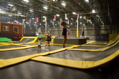 Trampoline Park- Getting Healthier with Each Jump