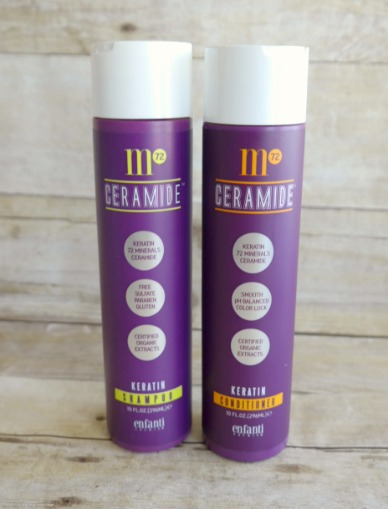 m72 Ceramide Keratin Shampoo and Conditioner