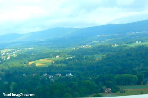 Driving Through the Pocono Mountains in Pennsylvania
