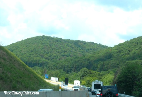 The Pocono Mountains in Pennsylvania