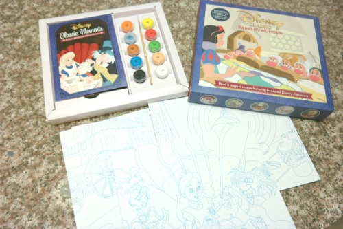 Disney Classic Paint-by-Number Paint Kit