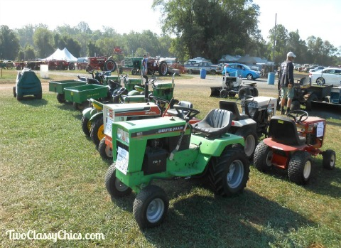 Tractors at Williams Grove Flea Market in South Central Pennsylvania