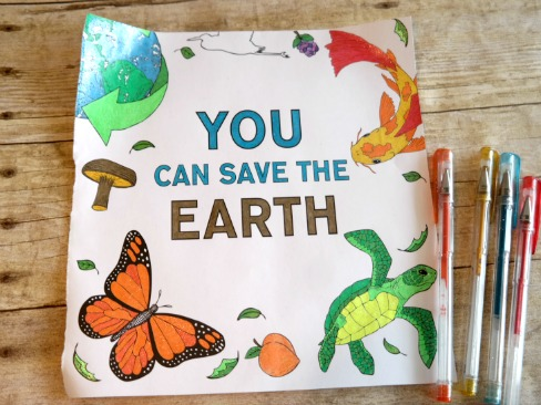 You Can Save The Earth - Adult Coloring Book