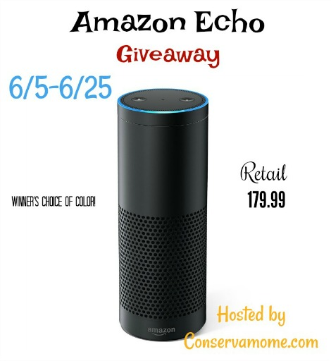 Enter to Win an Amazon Echo!