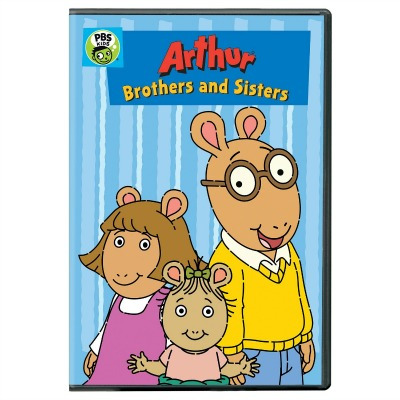 Arthur: Brothers and Sisters Children's DVD
