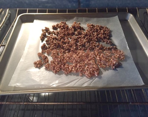Baking Homemade Granola