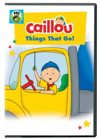 Caillou: Things That Go! Children's DVD